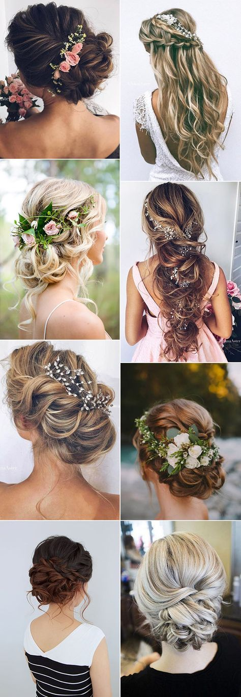 Top wedding hairstyles ideas for 2017 trends.