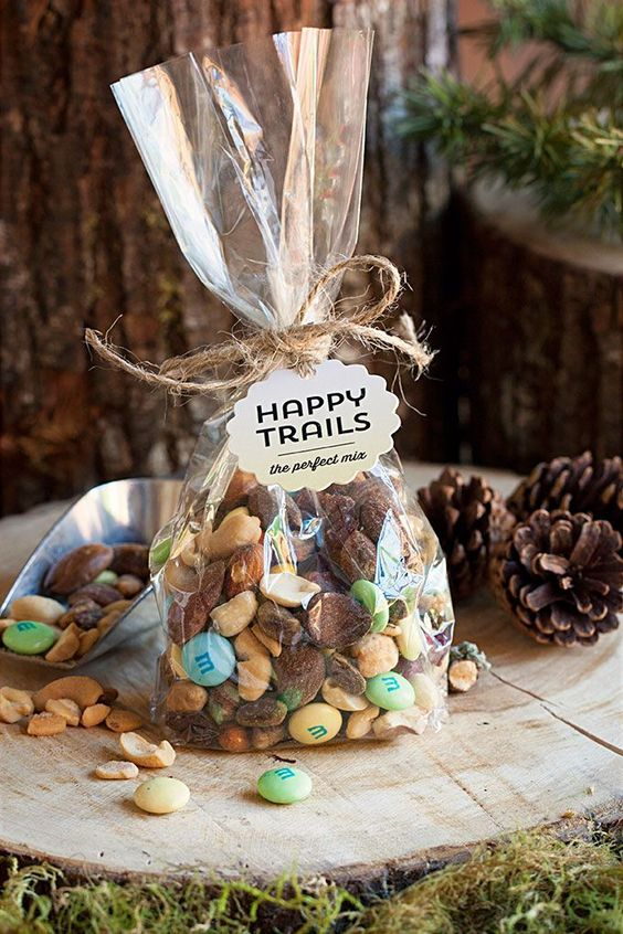 Great Idea For A Woodland Wedding Favor Wish Your Guests Happy Trails As They Leave