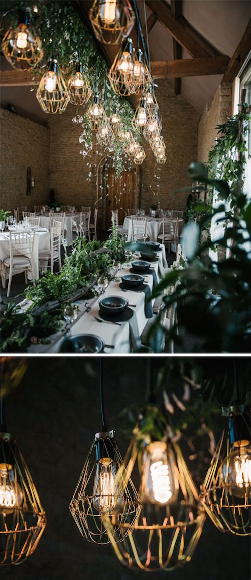 Incredible woodland wedding theme inspiration from Stratton Court Barn.