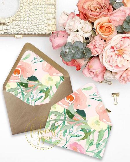 Como hacer sobres forrados para tus invitaciones de boda ¡Un lujo de detalle!