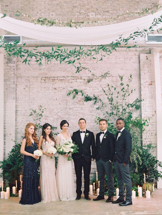 Intimate wedding at the HNYPT LA.