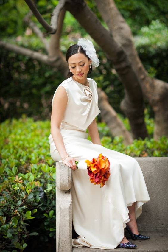 Los Angeles Public Library wedding captured by Michael Segal Photo.