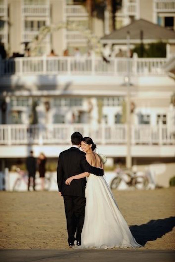 Amazing setting. Impressive, romantic, and unique! Shutters On The Beach wedding. Photography by Mike Colon.