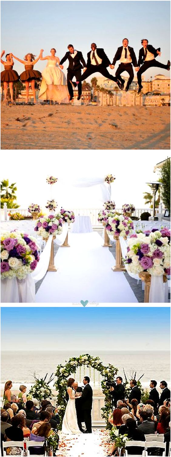 Unique wedding venues in Los Angeles: Shutters on the Beach. Photo courtesy: Wayne Photography by Today Might Be Photography & Shutters on the Beach.
