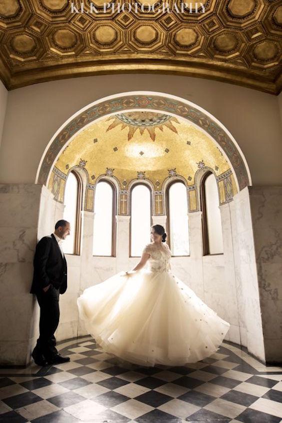Vibiana wedding. Los Angeles wedding photographer: KLK Photography.