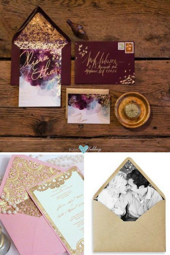 Personaliza tus invitaciones de boda!