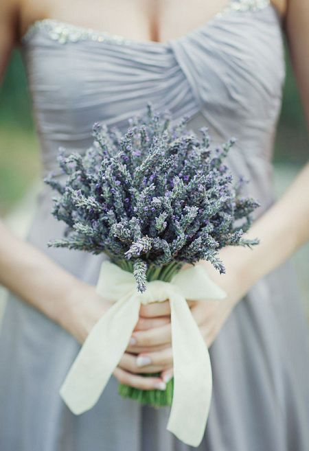 That special someone won't be able to take their eyes - and nose - off this fabulous bouquet made with dried lavender.