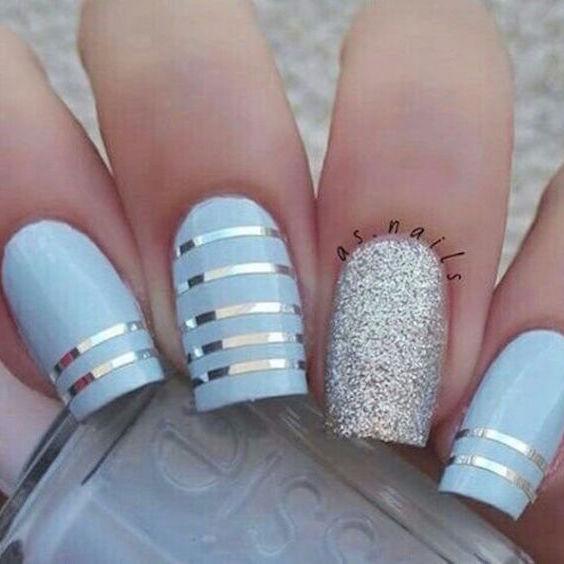 Echa un vistazo a estos adorables, originales y super precisos diseños inspirados en las últimas tendencias de arte para uñas.