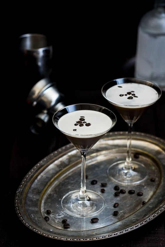 Espresso Martini. shaken not stirred.