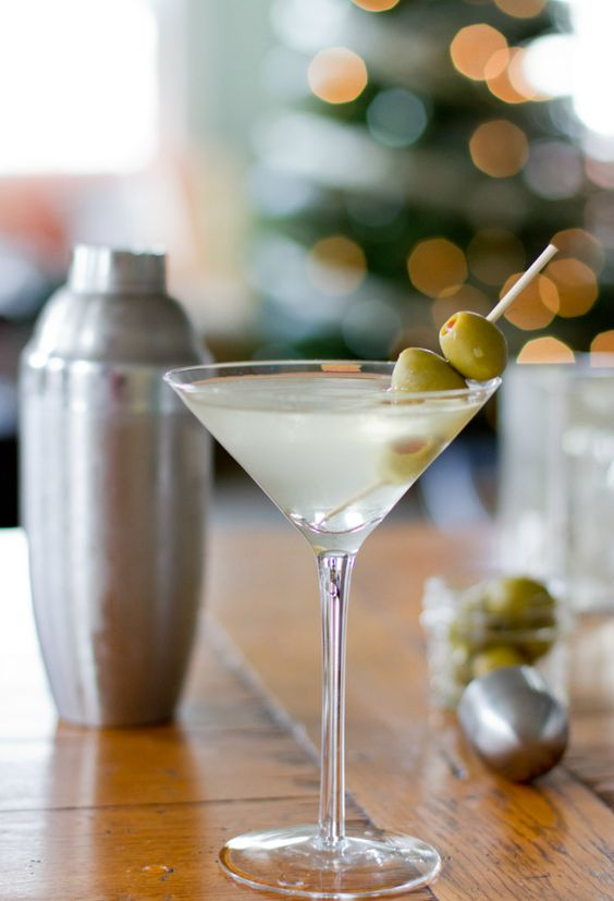 Extra-Dirty Martini.