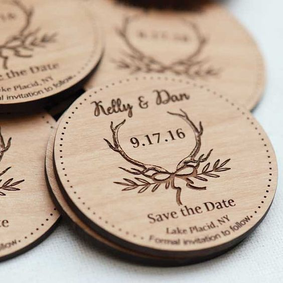 Rustic weddings allow you to get so creative!