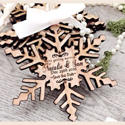 """Bored of the paper save the date? Dazzle your guests with this unique way to say """"save the date"""""""
