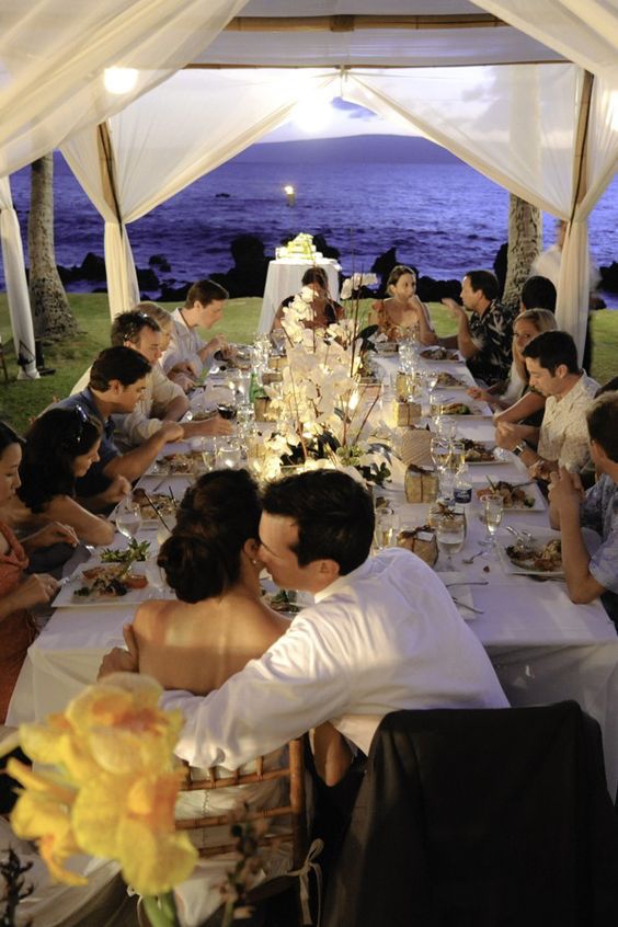White Orchid Beach House is a perfect location for a beach wedding. Maui, Hawaii wedding locations.