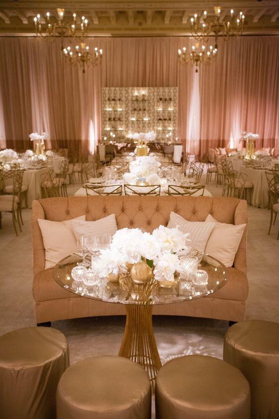 Esta boda glam en California, diseñada y planificada por Kristin Banta Eventos, es para no perdérsela. Fotos de Miki y Sonja Photography.