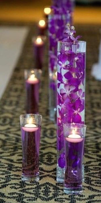 How To Make Diy Lighted Wedding Columns.Candle Lighted Centerpieces For Wedding Receptions 24 Ideas