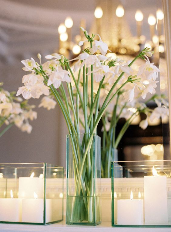 Mix and match some floral and candle centerpieces for an awe-inspiring look for your big day. DIY wedding decorations that will help you create your dream day for a fraction of the cost of getting it done professionally.
