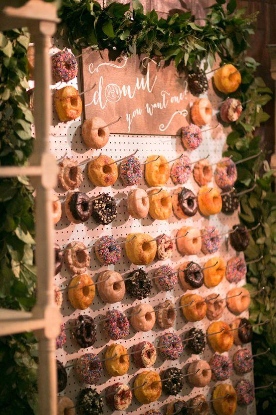 Descubre como presentar las donuts en tu boda, con paso a paso!