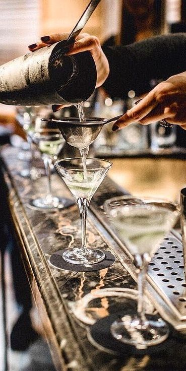 Save on your wedding alcohol budget. Make-your-own martini bar for an ultra glam wedding reception.