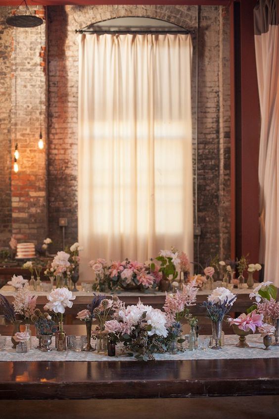 Huron Substation wedding. A bit country, but still romantic and pretty.