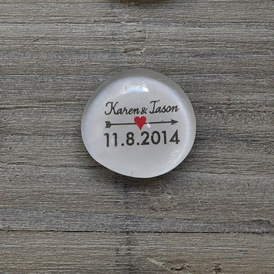 These unique and original save the date magnets are handmade in the heart of Washington!
