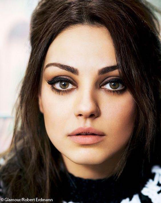 Agranda tu mirada como la de Mila Kunis. Photo: Robert Erdmann
