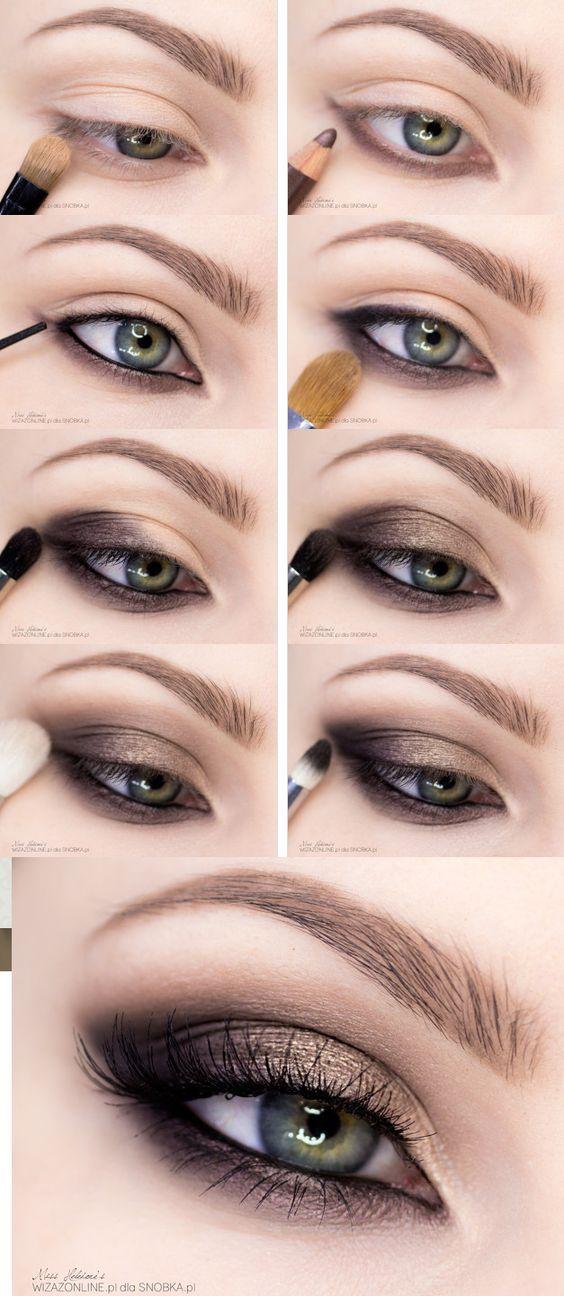 Maquillaje De Ojos Ahumados Con Paso A Paso Perfecto Y En Minutos