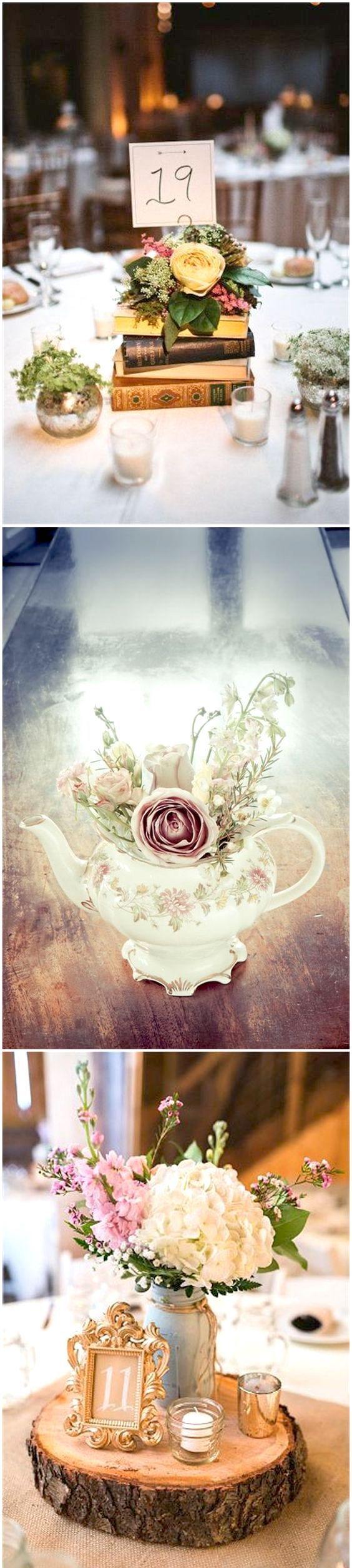 Las bodas vintage siempre transmiten una sensación de elegancia y romance.