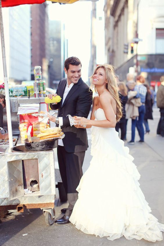 Everybody gets the munchies after so much celebration. Check out these food truck ideas for weddings.