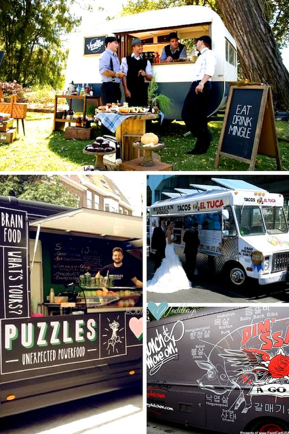 There are food trucks for every cuisine, look, and budget.