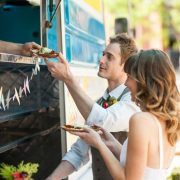 Check out this complete guide to plan a food truck wedding!