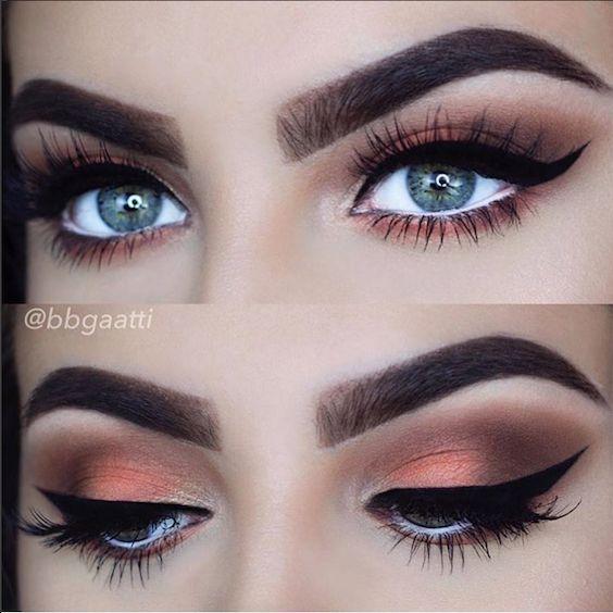 Maquillaje de ojos ahumados o smokey eyes con paso a paso. ¡Sensacional!