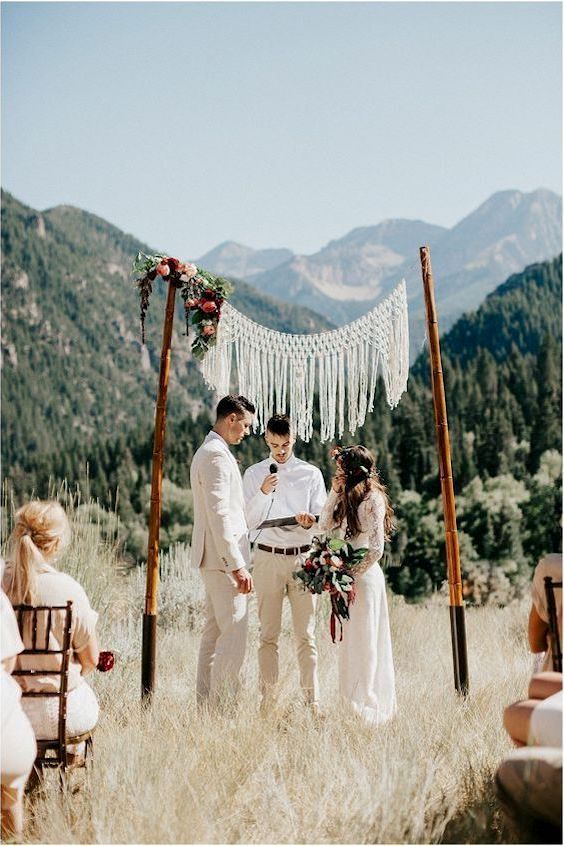 For boho couples with a love of nature, a lovely and very affordable wedding venue that will impress and create a memory for you and your guests.