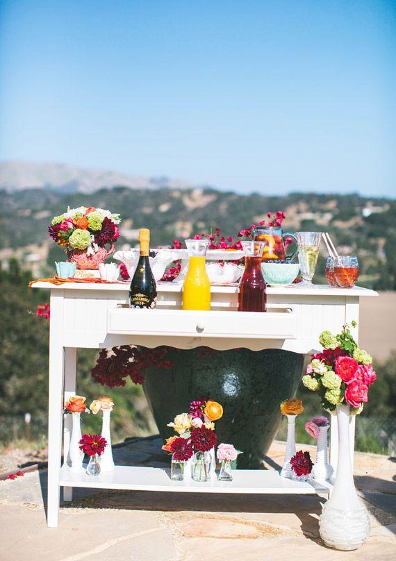 Inspiración para un boda brunch veraniega. Fotografía: Plum Jam Photography.
