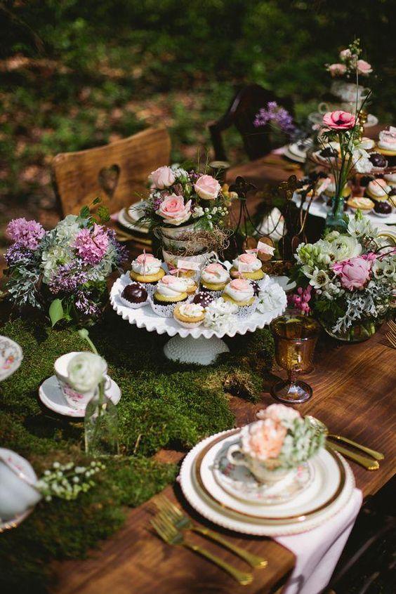 Decoración de mesas unicas e increíbles para una boda mágica.