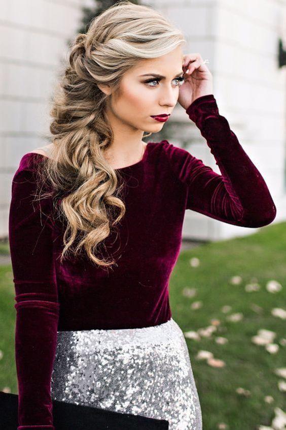 Look dramático de maquillaje invernal de Vivian Makeup Artist.