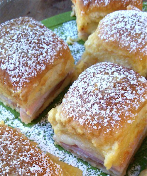 Los sandwich Monte Cristo mezclan lo salado y dulce en su sabor. Seguro que no queda ni uno.
