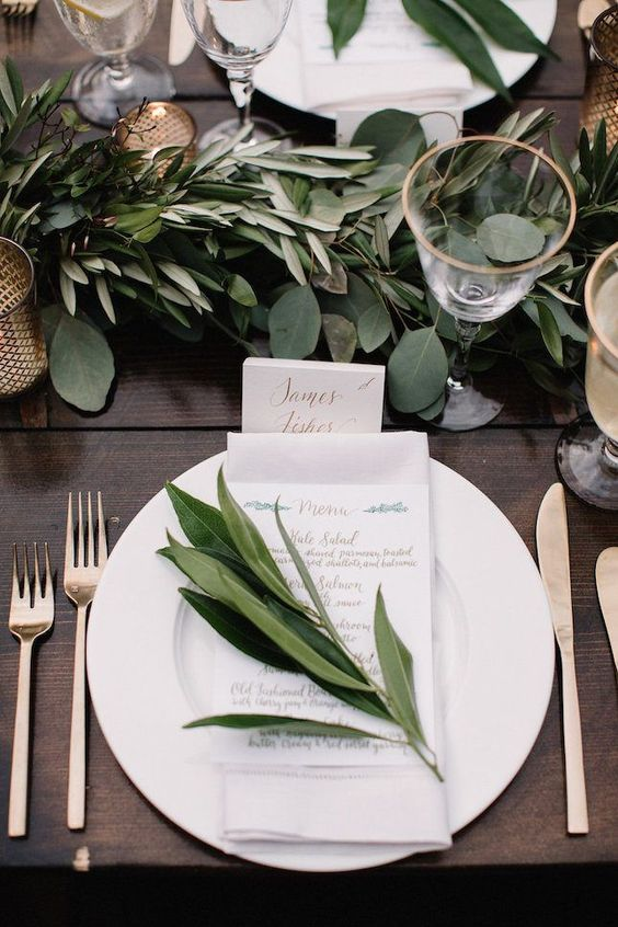 Eucalyptus and sage can be your greatest allies to save money on your wedding. Check out this Etsy store that sells it by the pound!