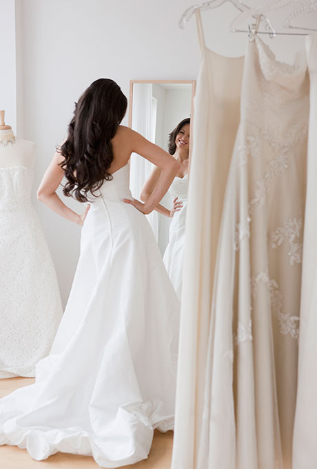 Buy your wedding dress online, save and look divine!