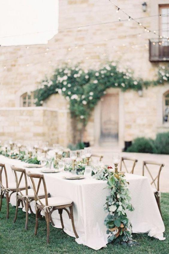 French vineyard wedding ideas. A bucolic dreamland.