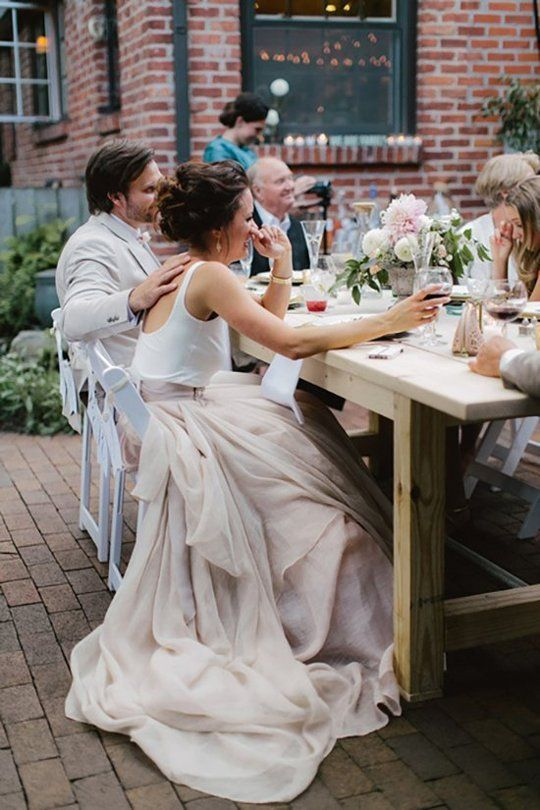 Trendy alternative bridal looks for second nuptials. How much more fun can you have?