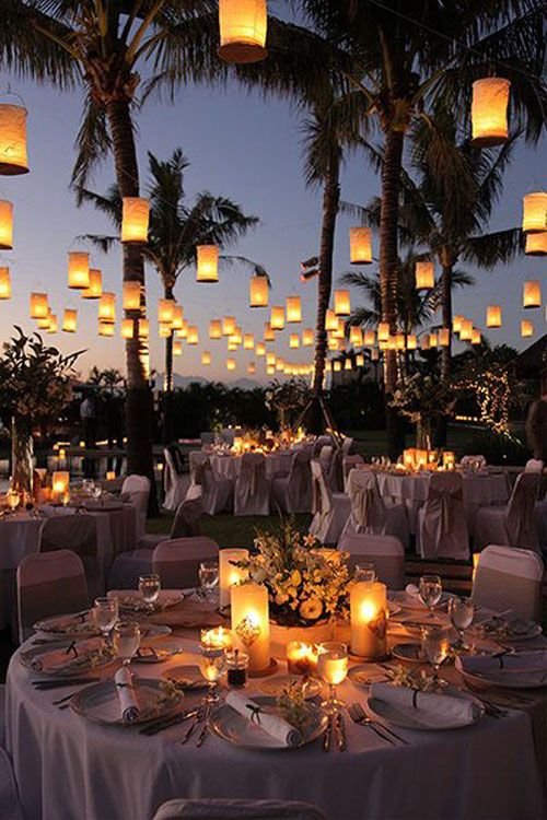 Surprise your guests with a beach wedding. Perfect for South Florida couples.