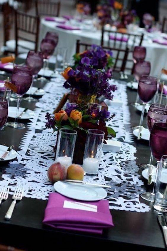 El ciruela predomina en las bodas de Octubre.