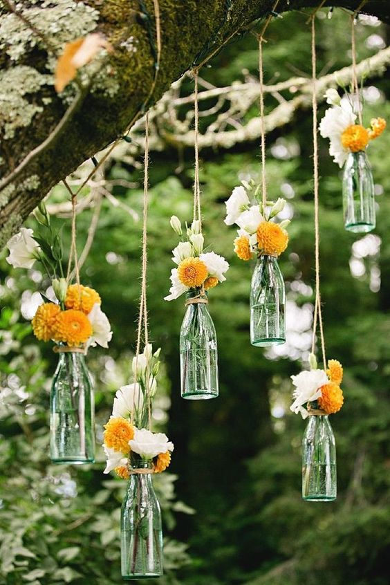 Adorable detail for a boho wedding.