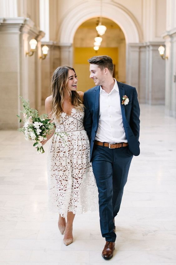Courthouse weddings followed by a lavish brunch. Photo: Melanie Duerkopp.