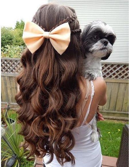 Una idea monísima de peinados de última moda.