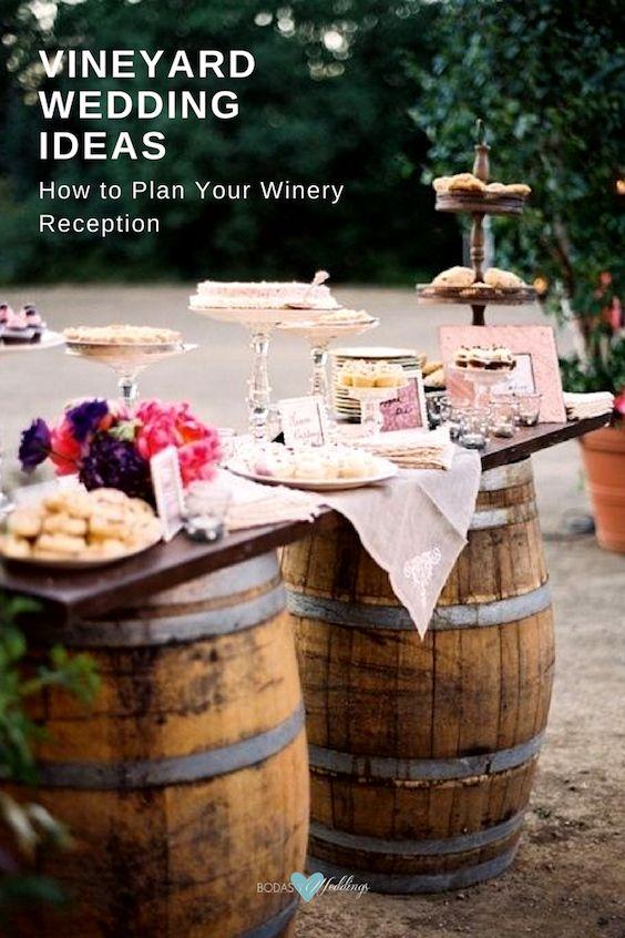 Vineyard wedding ideas.