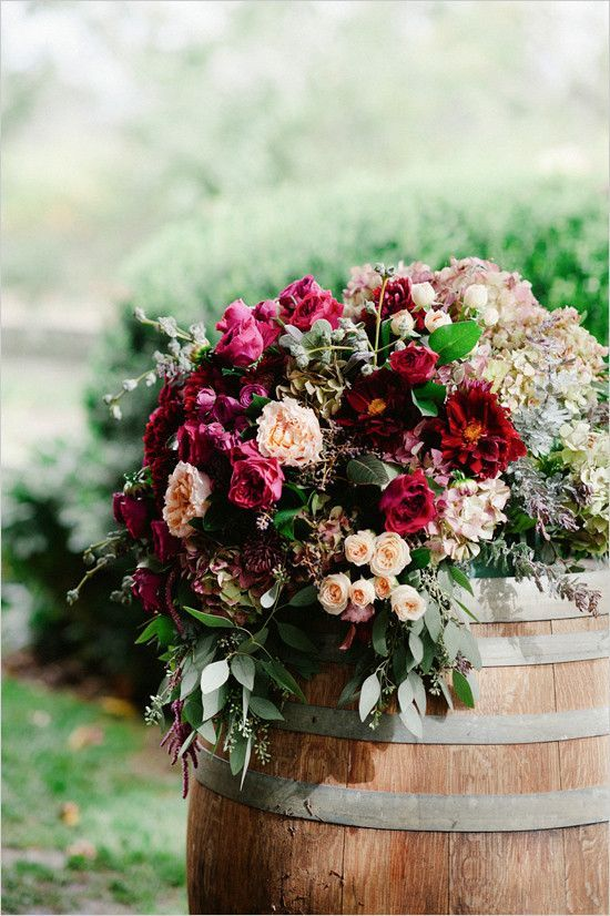 Vintage vineyard wedding ideas.