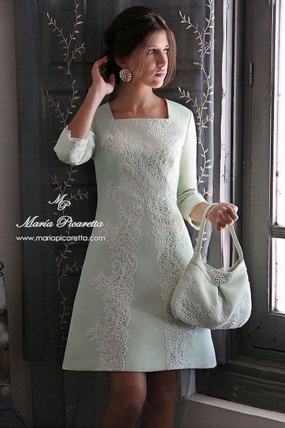 Stylish wedding dress for your second nuptials by Maria Picaretta 2017.