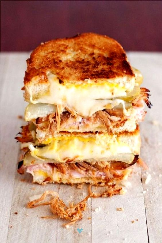 Melts in your mouth... Cuban sandwiches that ooze Swiss cheese.
