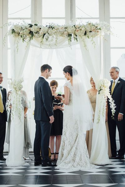 Jewish law does not require that marriages be performed by a rabbi. Photo: G. Chapin Studios.